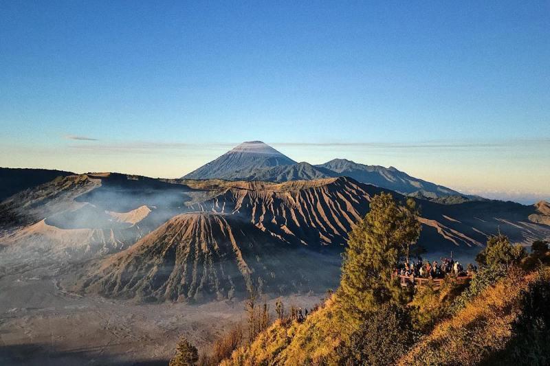 Gunung Bromo adalah tempat wisata terdekat dari Desa Ngadisari! via @pimpakk
