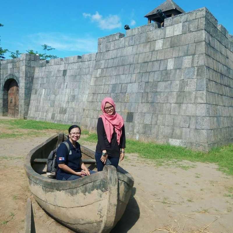 Studio Alam Desa Wisata Gamplong tinggalan film Sultan Agung karya Hanung Bramantyo! via @nanaananda