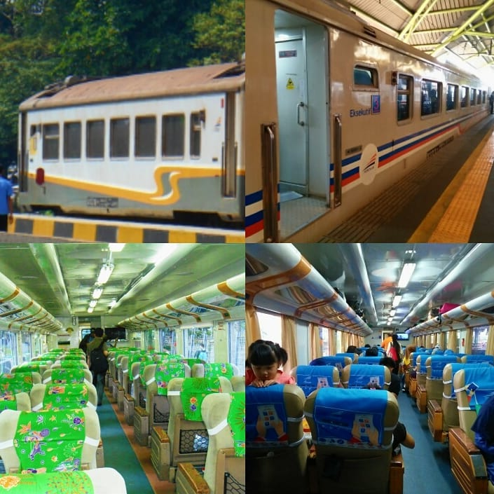 Foto bagian dalam KA Pangrango, Suasana bagian dalam Kereta Api Pangrango. via @alvi_fahminuddin