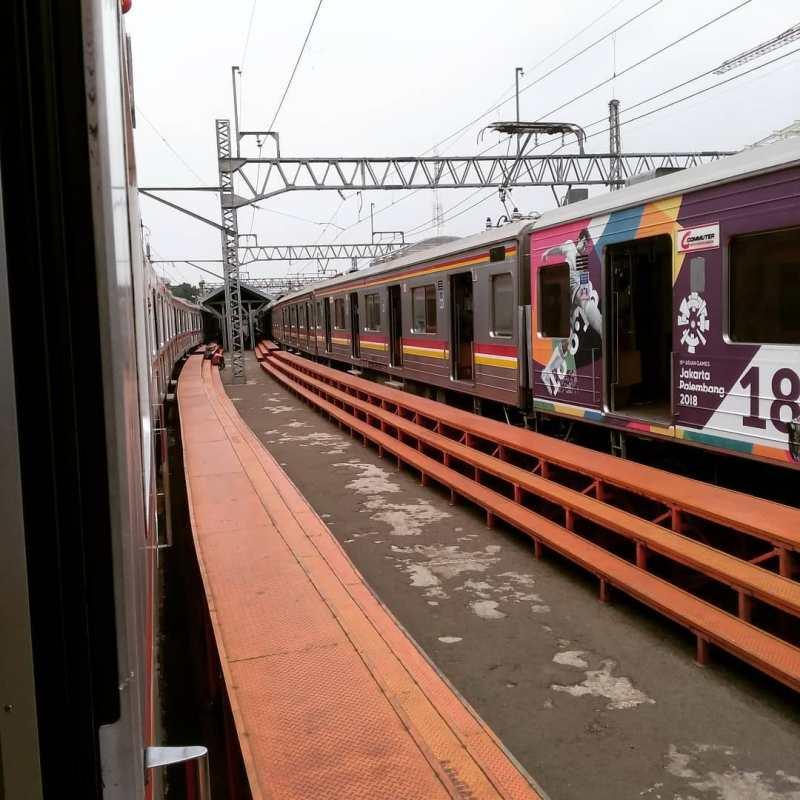 Rute yang akan dilewati oleh KRL Commuter Line Bekasi - Jakarta Kota! via @ratih_alisha