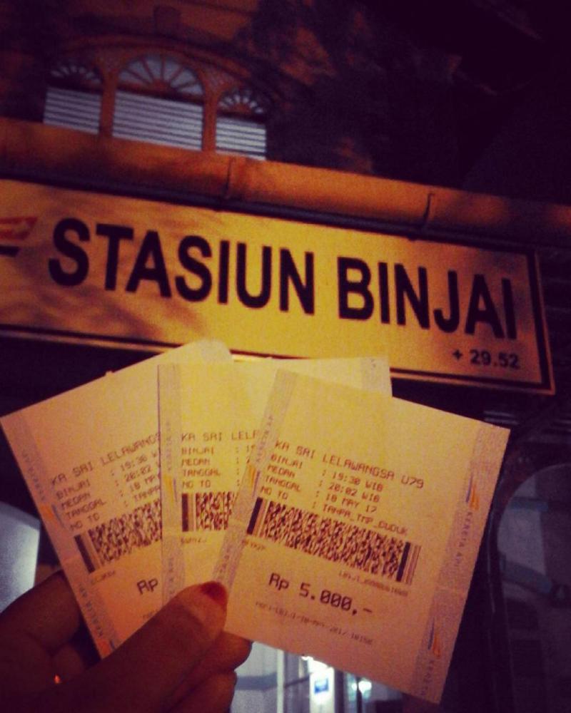 Berapa Harga Tiket Kereta Api Binjai Medan?