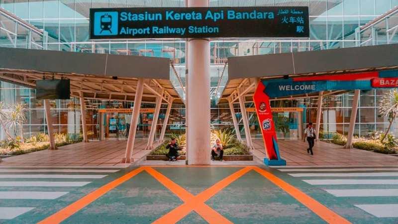 Jadwal Kereta Api Medan Bandara Kualanamu Terbaru Tahun 2020