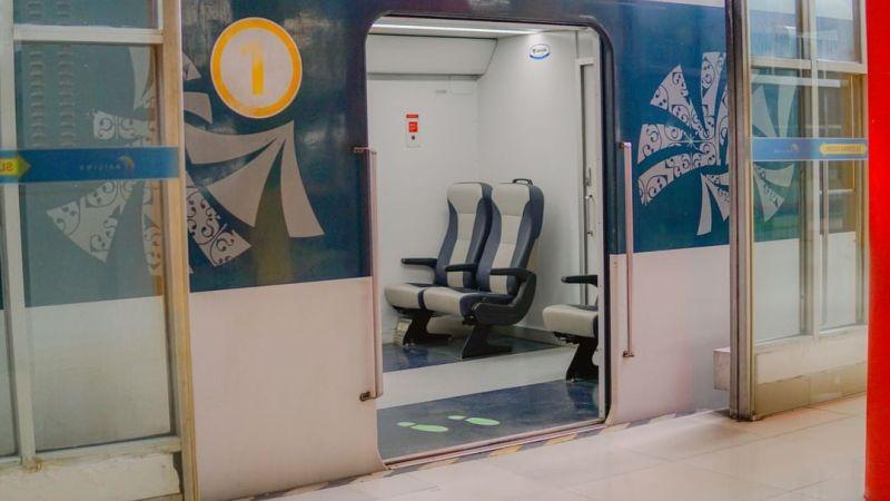 Jadwal Kereta Api Medan Bandara Kualanamu Terbaru Tahun 2020 Untuk Rute Stasiun Bandara Kualanamu ke Stasiun Medan.