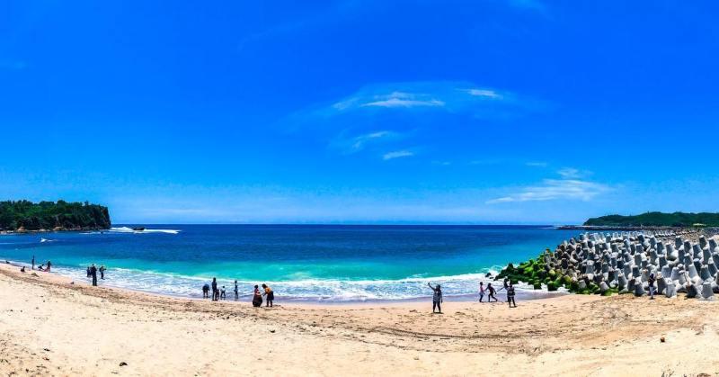 Foto Pantai Tambakrejo Blitar Jawa Timur