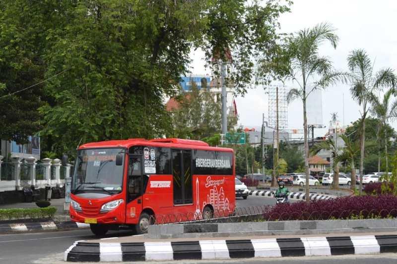 Peta Jalur Rute Trans Semarang Terbaru