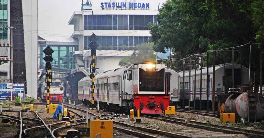 Stasiun Medan Di Sumatera Utara - Stasiun Di Indonesia