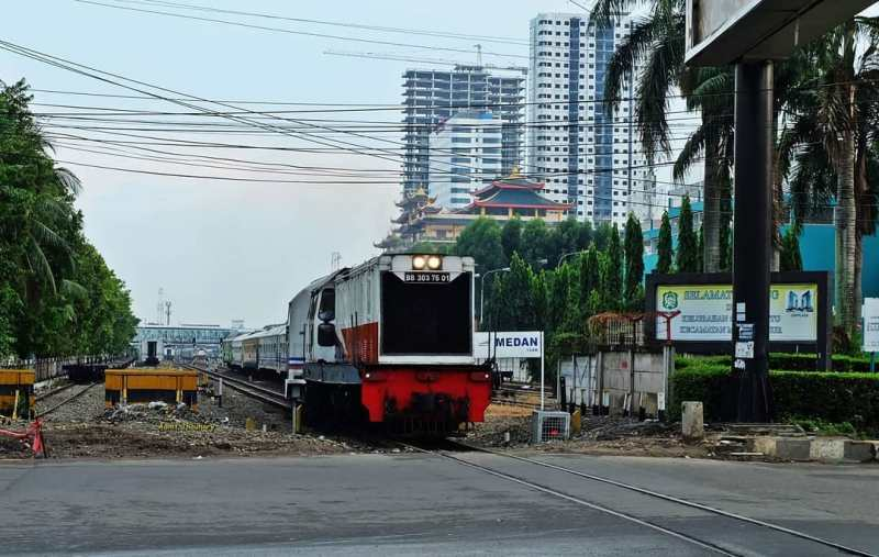 Harga tiket kereta api untuk kereta yang berangkat dari Stasiun Medan