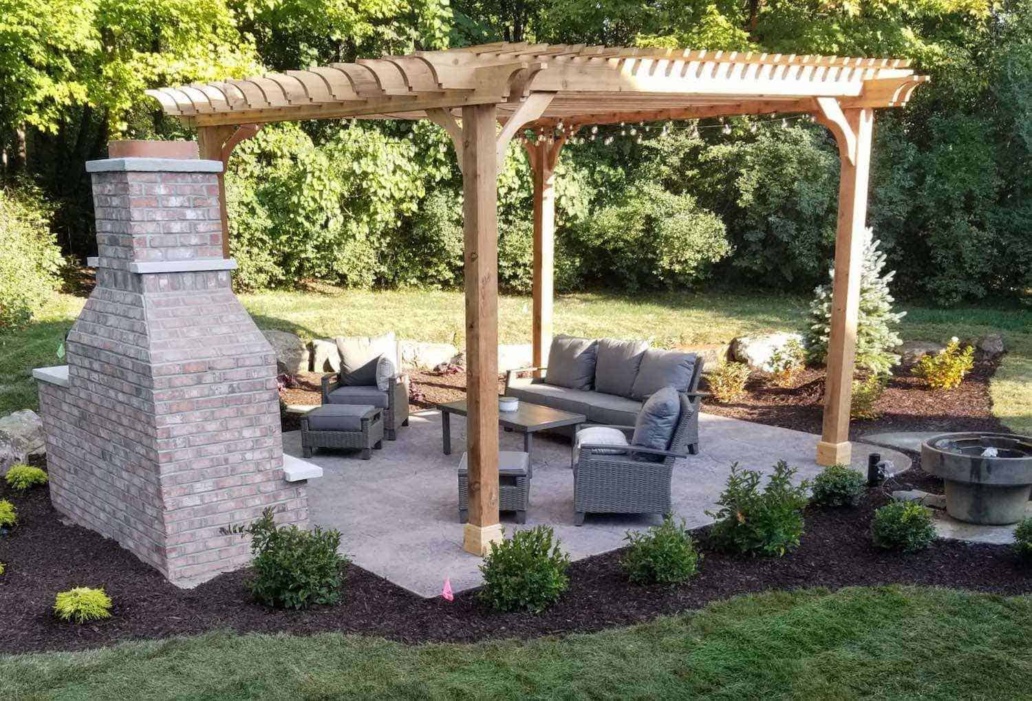 solid wood patios cover kits discover