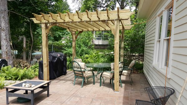 10x14 Pergola Kits Big Kahuna 10x14 Wood Pergola Kit