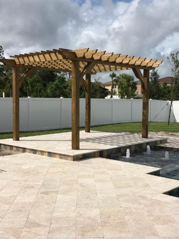 12x14 Pergola Kit Shop Our Big Kahuna 12x14 Pergola