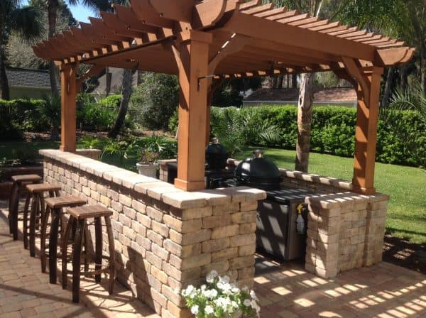 8x12 Pergola Kit Buy The Big Kahuna 8x12 Pergola Plan