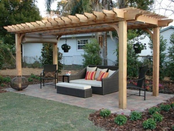10x15 Pergola Kit Buy Our Big Kahuna 10x15 Wood Pergola