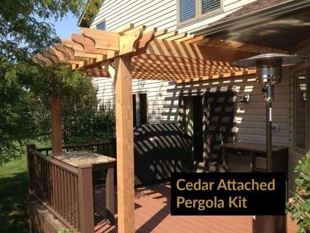 best pergola wood types lumber for