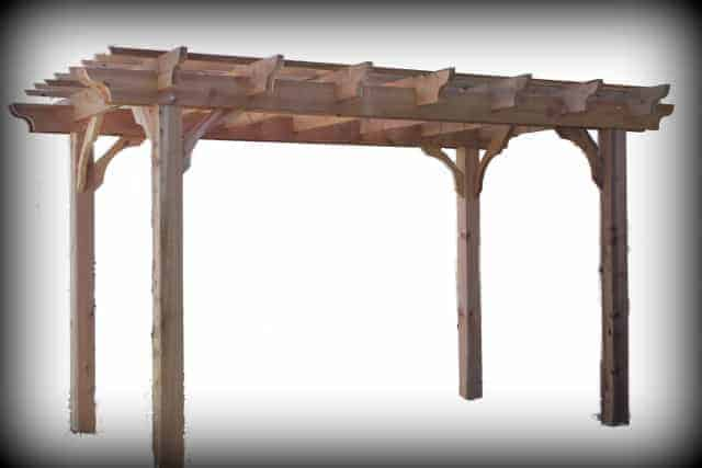 Wooden Pergola Kit Shop Our Sombrero Collection Of