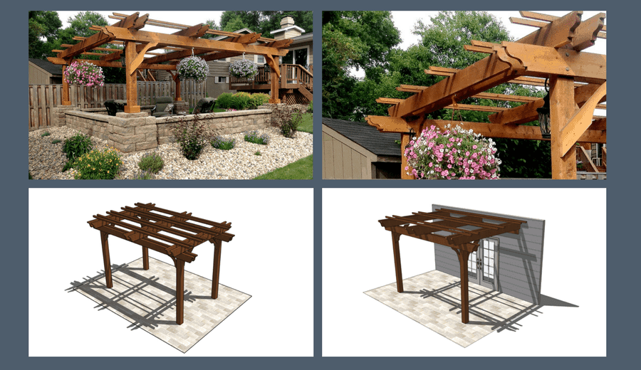 patio cover kits buy fedora wooden
