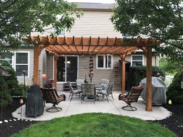 patio pergola designs view shade