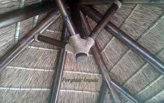 Pérgolas impala Parasol interior del techo
