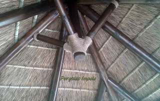 Pergolas Impala Parasol inside roof