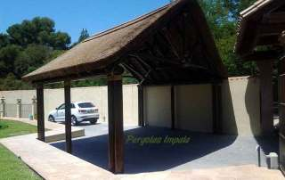 Pergolas Impala car-port construction