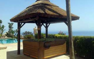 Pergolas Impala hot tub canopy
