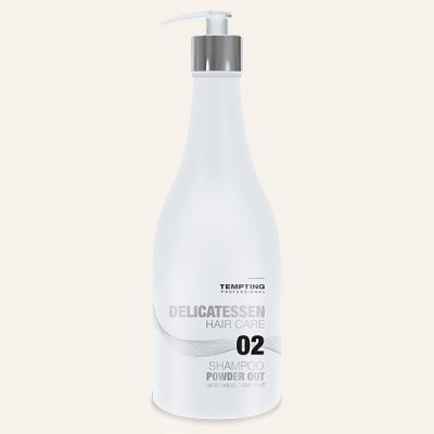 Powder Out kõõmavastane šampoon 300 ml eemaldab tõhusalt kõõma