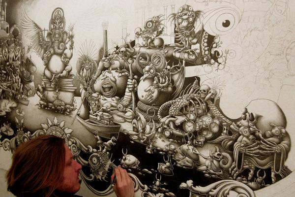 perierga.gr - Απίθανοι τοίχοι ζωγραφισμένοι στο... χέρι!