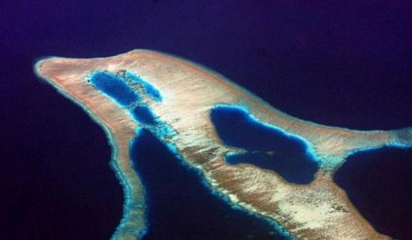 perierga.gr - Παράξενα σχήματα νησιών!