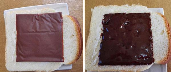 perierga.gr - Σοκολάτα σε... φέτες τοστ κάνει τη διαφορά!