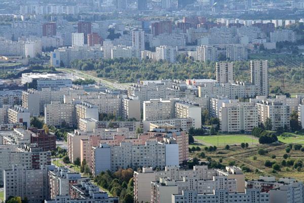perierga.gr - Οι πυκνοκατοικημένες περιοχές των μεγαλουπόλεων!
