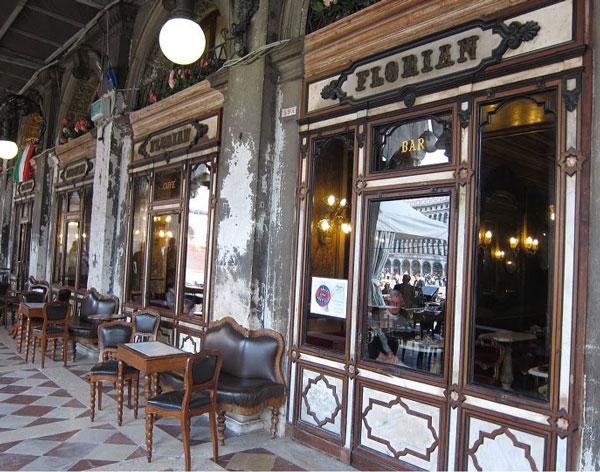 perierga.gr - Caffe Florian: Το ιστορικό καφέ της Βενετίας!