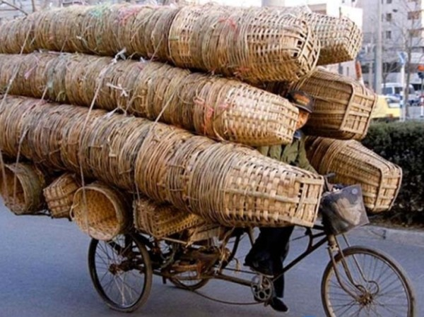 perierga.gr - Απίθανες μεταφορές με ποδήλατο!