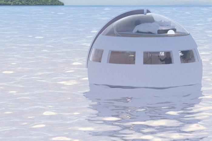 perierga.gr - Πλωτό δωμάτιο ξενοδοχείου στέλνει τους πελάτες στον... ωκεανό!