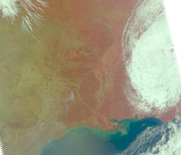 Perierga.gr - Πυρκαγιές τραβηγμένες από τους δορυφόρους της NASA