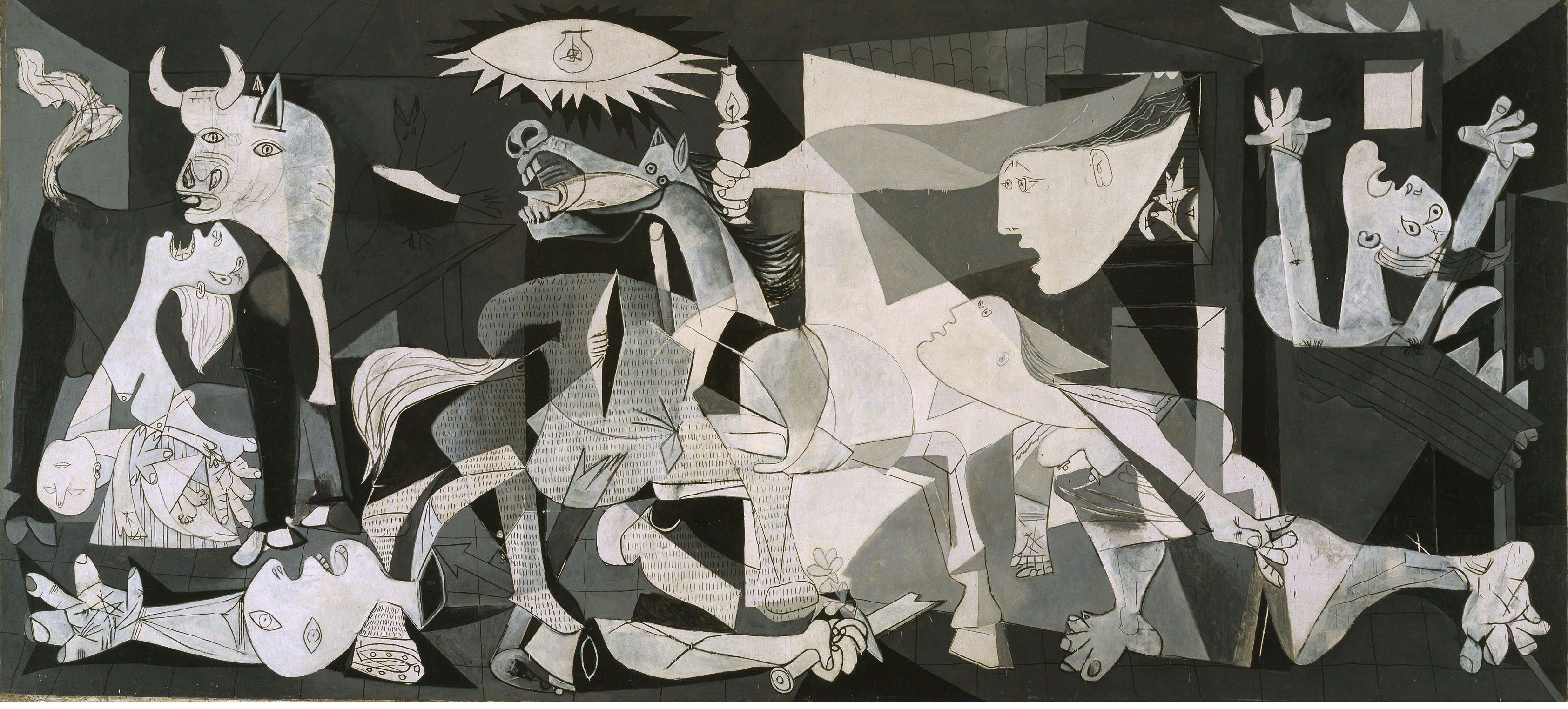 Pablo-Picasso-Guernica-Guerra-Civil-Española-Historia-Obras-Arte-Cuadro-pintura-artista-blog-divulgacion