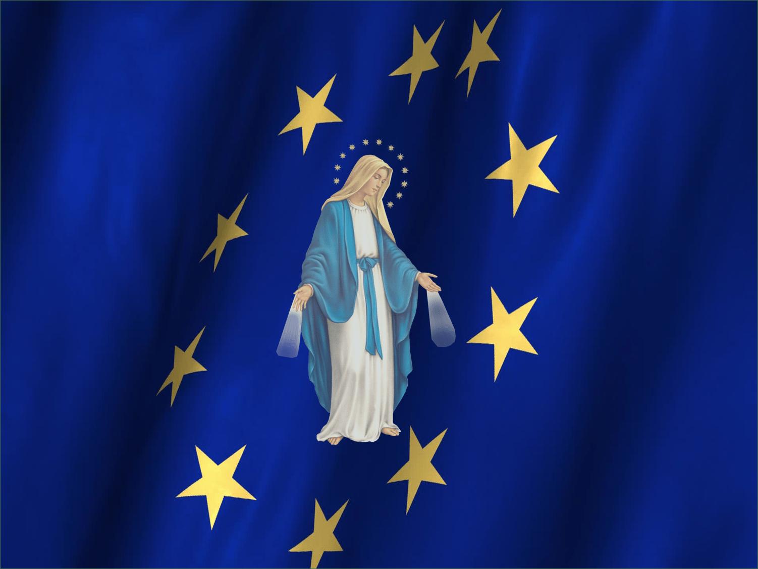 virgen-maria-apariciones-marianas-aparicion-milagros-cristianismo-religion-union-europea-banderas-simbolos-simbologia-simbolismos-historia-espiritualidad-arsene-heitz-medalla-milagrosa-apocalipsis-catolico-catolicismo-misterios-enigmas-inmaculada-concepcion