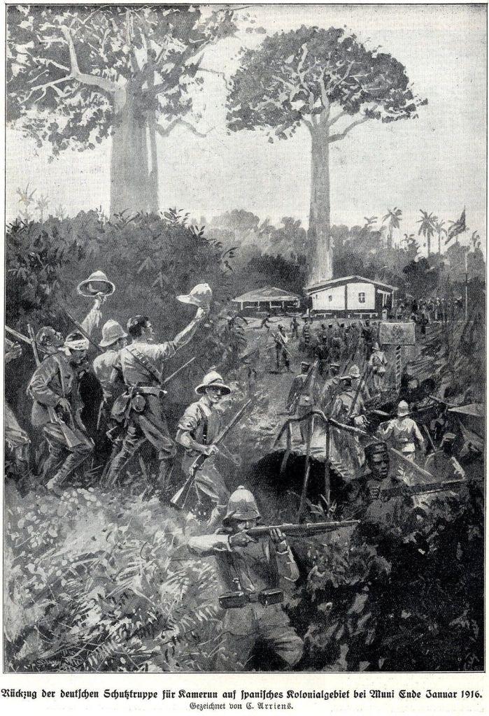 primera-guerra-mundial-guinea-española-africa-colonias-españa-alfonso-xii-alemanes-camerun-historia