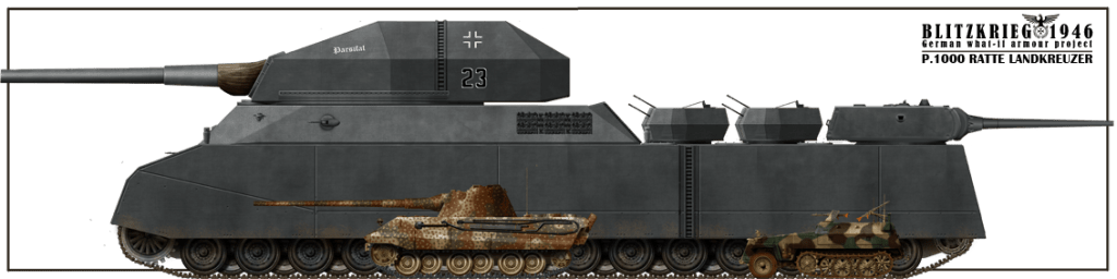 landkreuzer-p1000-ratte-tanks-armoured-battle-vehicles-panzer-tiger-panzerkampfwagen-second-world-war-nazis-germany-europe-adolf-hitler-tecnology-secret-weapons-wunderwaffen
