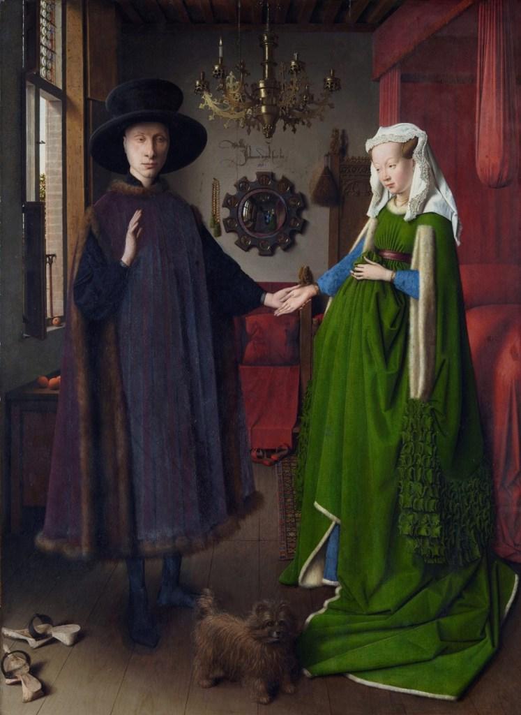 matrimonio arnolfini-jan van eyck-pintura flamenca