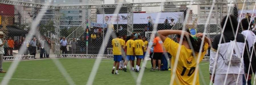 9b1875904a Mundial de Futebol de Rua reúne 300 jovens