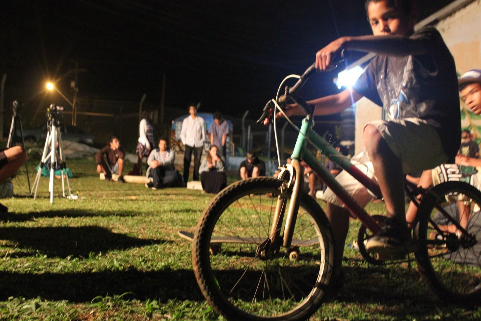 Roda de conversa com midialivristas sobre as narrativas das periferias.(Foto: Ester Souza / Repórter da Quebrada)