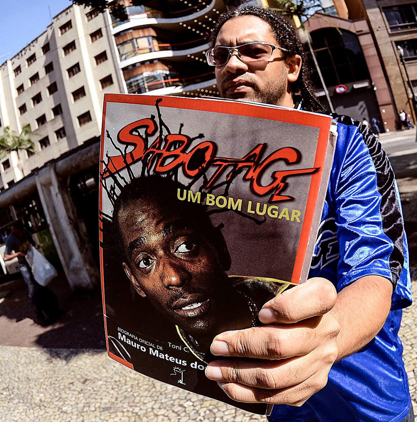 Toni C., autor da biografia de Sabotage. (Foto Marcio Salata/Divulgação)