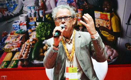 Ricardo Abamovay no evento Humanidade 2012. Foto: Reprodução.