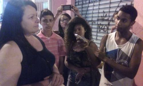 """""""Repórter da Quebrada"""", curso realizado pelo Periferia em Movimento com adolescentes do Extremo Sul"""