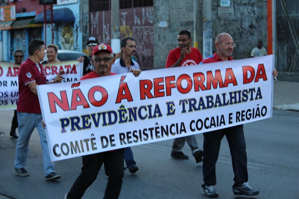 """Greve Geral: Grajaú para contra a """"Reforma"""" da Previdência"""