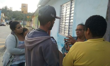 Oficina Repórter da Quebrada em Marsilac.