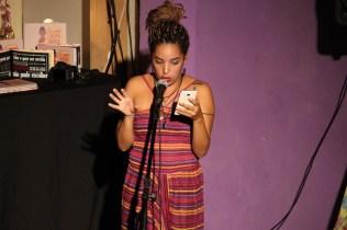"""Cristiane Rosa, idealizadora do projeto """"Eu quero ouvir Maria""""( Foto: Evelyn Arruda / Periferia em Movimento)"""