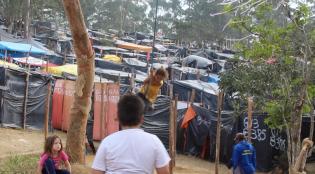 Ocupação Marielle Franco: quatro mil famílias em luta por moradia no Parque São Rafael (Foto: Thiago Borges/Periferia em Movimento)