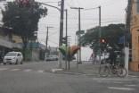 Jardim Guanhembu: no Grajaú, não há um quilômetro de ciclovia sequer (Foto: Thiago Borges / Periferia em Movimento)