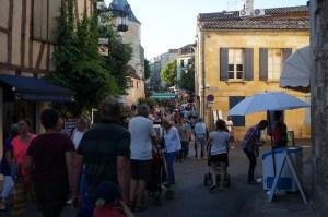 Fête de la musique dans le centre historique de Bergerac