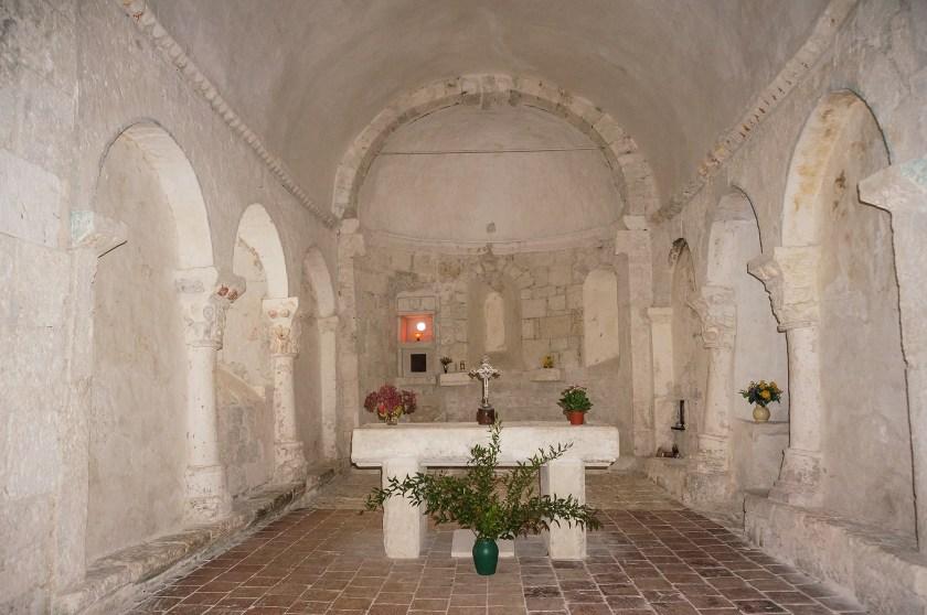 Chœur de l'église de Monbos